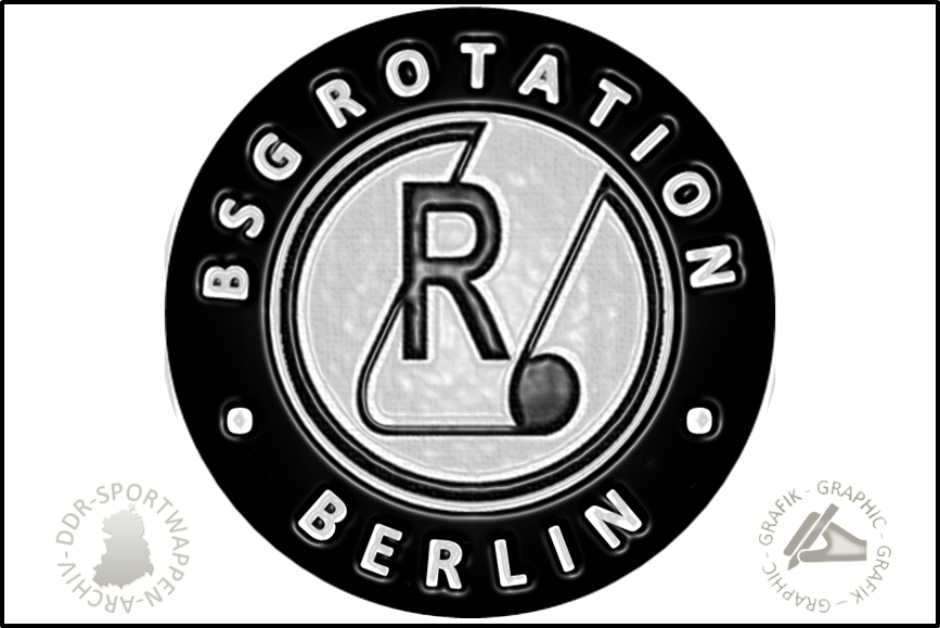 BSG Rotation Berlin Pin Variante