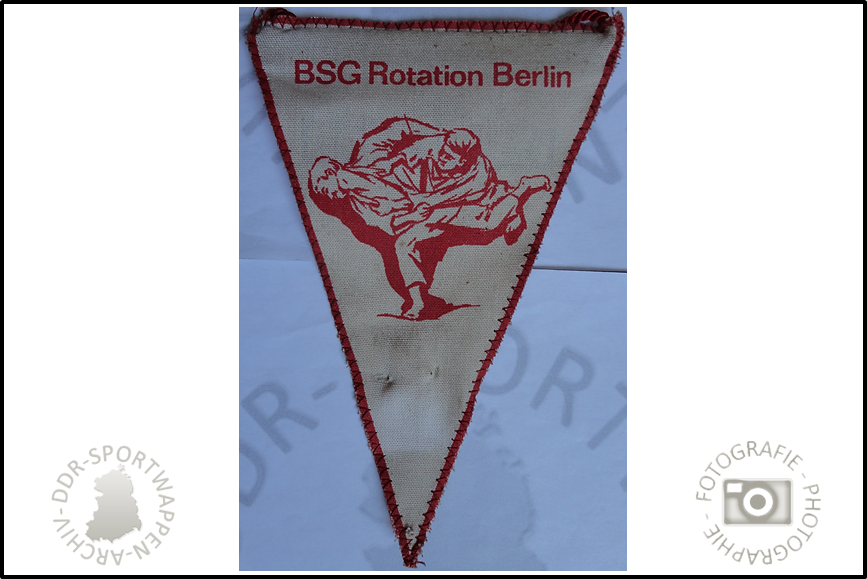 BSG Rotation Berlin Sektion Ringen Wimpel