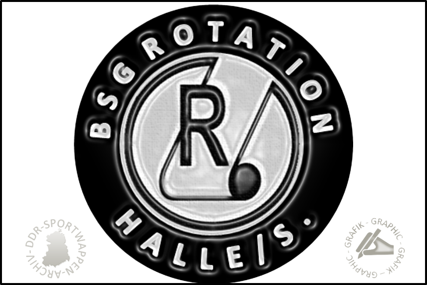 BSG Rotation Halle Pin neu